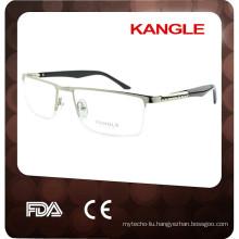 2017 half-rim brands eyewear frame glasses