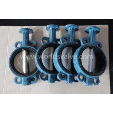 High Quality Ggg40 Ductile Iron Wafer Type Butterfly Valve (D71X-10/16)