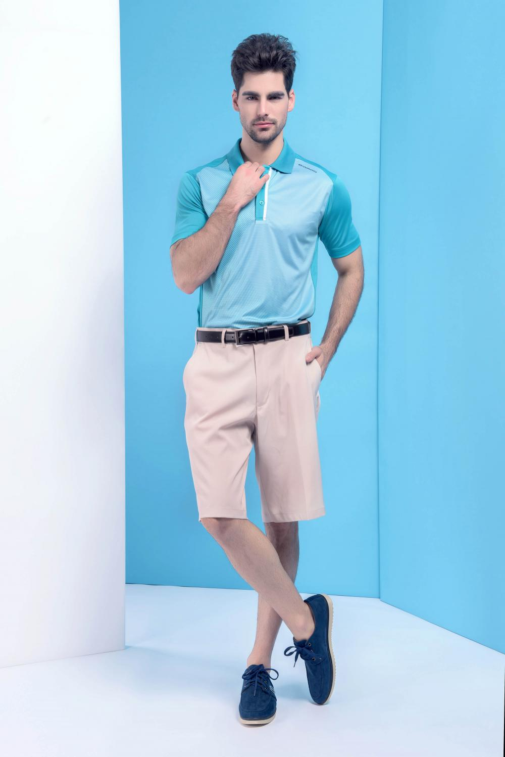Men's basic short pants