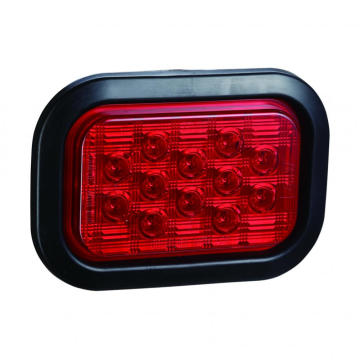 High Quality E4 Rectangle Truck Stop Tail Lampu