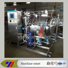 Fully Automatic Water Immersion Sterilizer Retort for Canned Food