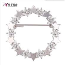 Xuping Fashion Élégant Rhodium Star Cristaux De Swarovski Bijoux Élément Broche -00007