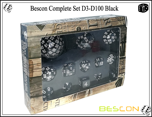 Complete Dice Set D3-D100 (11)
