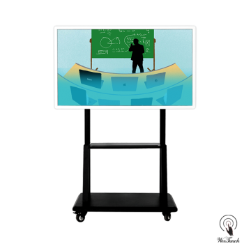 55 Inches Smart LED Panel Dengan Mobile Stand