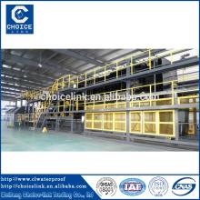 Feltro máquina de fabricação de membrana de betume fábrica