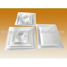 white hotel ceramic ware