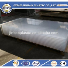 fábrica al por mayor resistente al calor 20 mm de espesor de plexiglás hoja