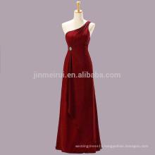 Vestido De Festa Longo Prom Dress Abendkleider 2016 One Shoulder Backless Chiffon Floor Length Evening Gowns Robe De Soiree