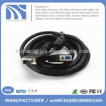Мужской к женскому кабелю VGA для автомобильного ЖК-монитора ПК-проектор и кабель HDTV VGA 3M