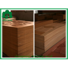 Natural Oak Wood Veneered Moulded MDF Door Skin