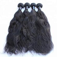 Китай бразильские производители волос 8А класс девственница человеческие волосы расширение естественная волна волос weave