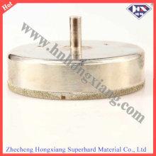 Broca recortada diamante de alta calidad // Bits de núcleo galvanizado