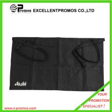 Printed Black Cotton Bar Waist Apron with Custom Logo (EP-A7155)