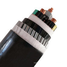 XLPE Insulated Screen PVC Sheathed Single Core Three Core Low Voltage Armoured Cable Electric Copper Power Cable Price