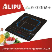 Cocina de inducción durable ultra delgada del tacto deslizante para la venta al por mayor