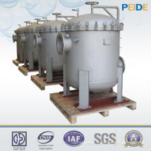 1-800um промышленных систем фильтрации воды нескольких рукавного фильтра