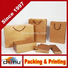 Personalizado papel impresso Kraft saco (220001)