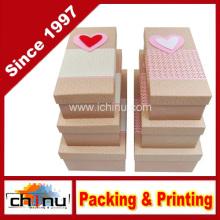 Caixa de presente de papel com OEM personalizado e em estoque (110385)