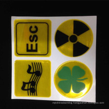 Hot Selling Decorative Handicrafts Reflective Stickers and Decal for any safety-related application
