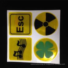 Venda quente Artesanato Decorativo Adesivos Refletivos e Decalque para qualquer aplicação relacionada à segurança