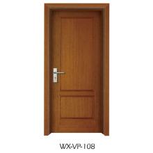 Конкурентная деревянная дверь (WX-VP-108)