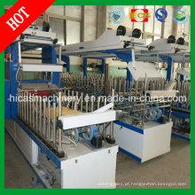 Máquina de embalagem de cola de frio e quente para máquina de moldura de porta de madeira Hicas