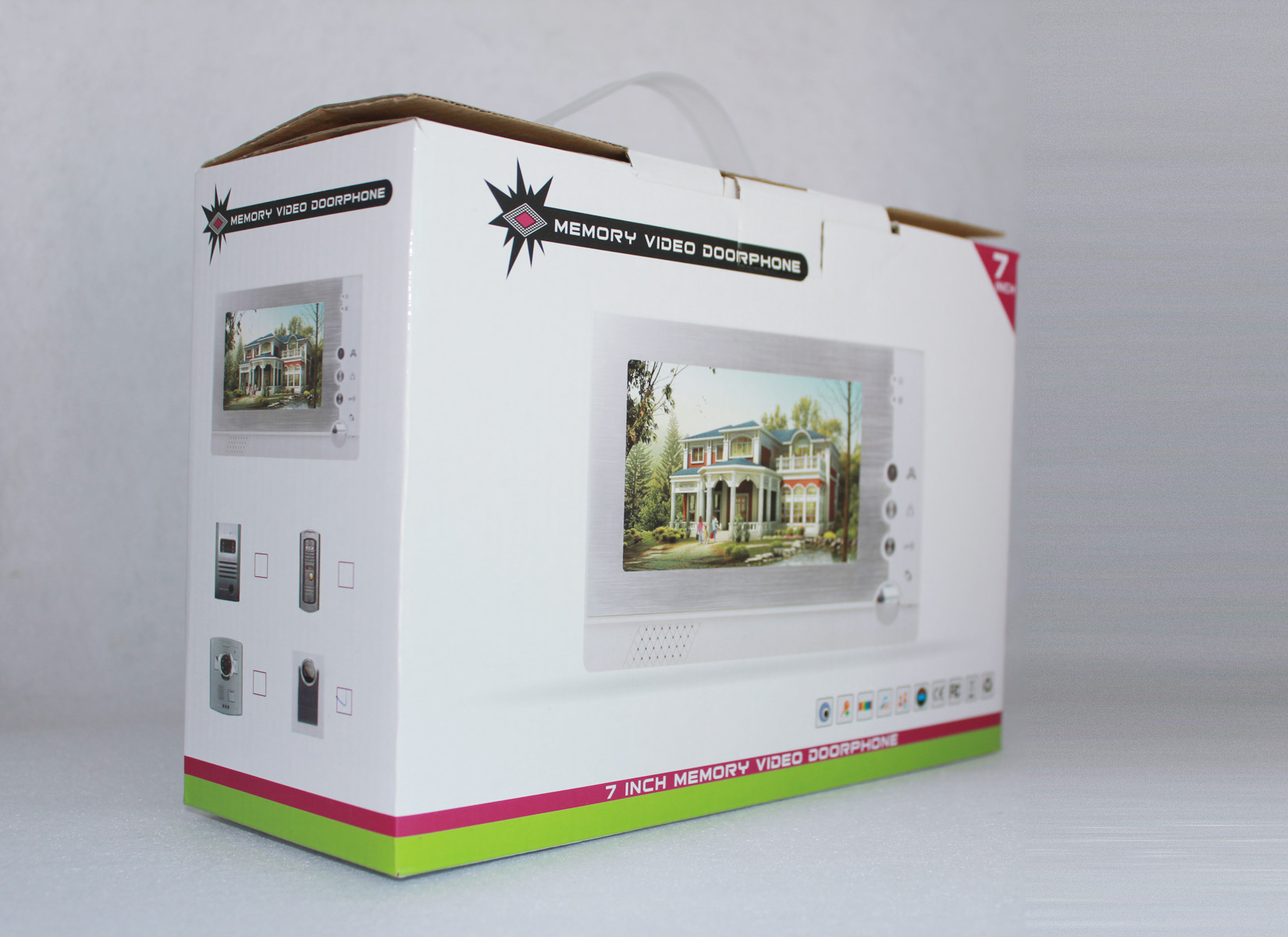 wire video door phone gift box color