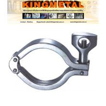 Нержавеющая сталь санитарно фитинги двойной контактный зажим (13MHHM-DP)