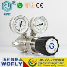 Regulador de pressão de gás de nitrogênio 316L de aço inoxidável