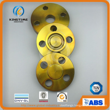 ANSI B16.5 Carbon Steel A105 Forged Blind Flange with TUV (KT0399)