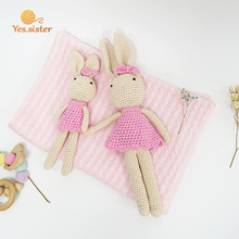 Cute Amigurumi Crochet  Doll Bunny Toy Baby