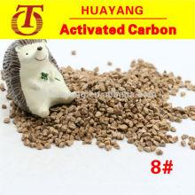 Crushed walnut shell abrasive grit for deflashing and polishing