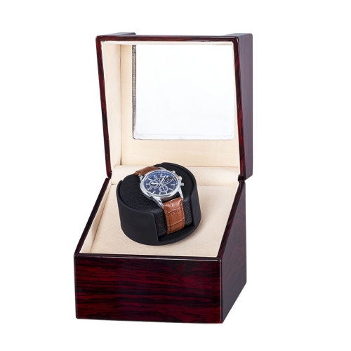 Wooden Single Watch Winder Box aus Holz