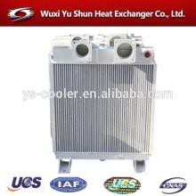 Aluminio de alto rendimiento de alta eficiencia personalizados intercambiador de calor fabricante