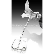 Particular vinho acessório, garrafa de vinho Pourer, cabeça de animal vinho Pourer