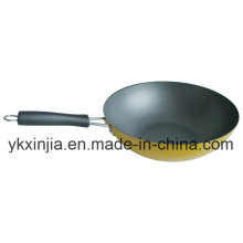 Kitchenware Aluminum Wok with Non-Stick Coating Cookware