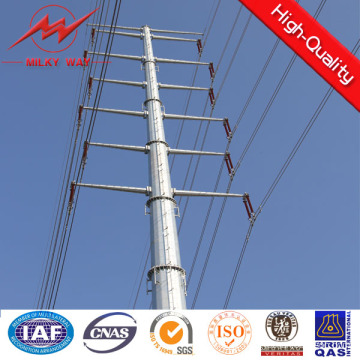 45FT Ngcp Galvanized Electric Steel Pole