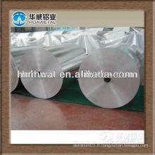 Feuille d'aluminium haute qualité pour l'emballage au chocolat