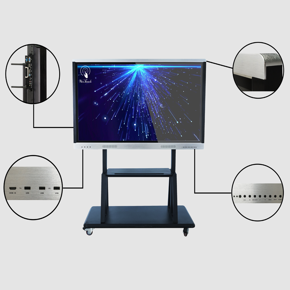 65 inches infra-red panel with mobile stand