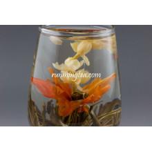 China jasmine and Lily Flower Tea , Qiu Shui Yi Ren / Lily's Lady