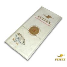 Robes africaines de coton de crème blanche de FEITEX Vêtement de brocart de Guinée Tissu de Rin de Bazin Tissu africain de Shadda de vêtements