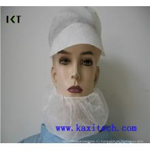 Одноразовая нетканая борода-маска с двойными эластиками Kxt-Nbc02