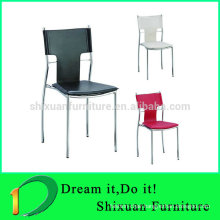 Modern hot sale stacking leather office chairs