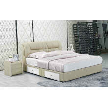 New Leather Bed, China Bed, Bedroom Furniture (J333)