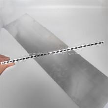Tubos de microcanal de aluminio de 100 mm de ancho