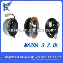 Embreagem do compressor do condicionador de ar automotriz para panasonic mazda 3