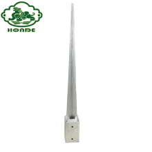 Galvanized High Strength Pointed Pole Anchor
