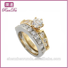 2014 wholesale quality energy stainless steel jewelry rings