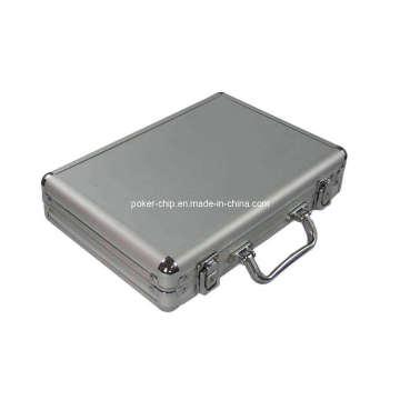 200PCS Poker Chip Set in Plain Surface Aluminum Case (SY-S13)