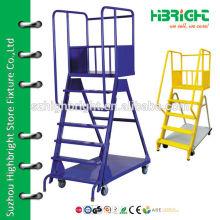 warehouse ladder truck
